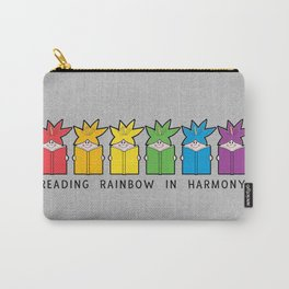 Reading Rainbow in Harmony Carry-All Pouch