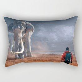 My Monolith Elephant Rectangular Pillow