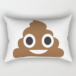 A little poop emoji! Rectangular Pillow