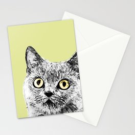 Stoned Cat Stationery Cards