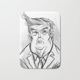 Donald Trump Caricature Bath Mat