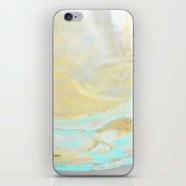 Sea Foam iPhone Skin