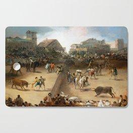 Goya Bullfight in a Divided Ring Cutting Board