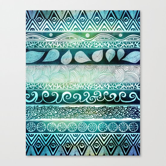 Dreamy Tribal Part VIII Canvas Print