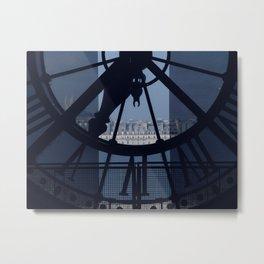 Looking over Paris Metal Print