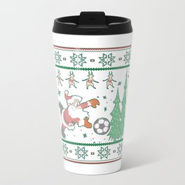 Football Christmas Travel Mug