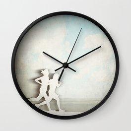 Runners Wall Clock