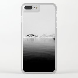 Elements of simplicity Clear iPhone Case
