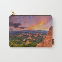 Las Medulas, ancient Roman mines in Leon, Spain at sunset. Carry-All Pouch