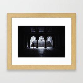 From Dark to Light Framed Art Print