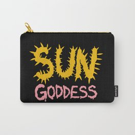 Sun Goddess Carry-All Pouch