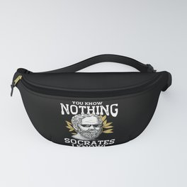 Socrates Knows Fanny Pack
