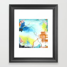 The Dreaming - Square Abstract Expressionism Framed Art Print