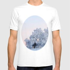 A cold day in Paradise Mens Fitted Tee MEDIUM White
