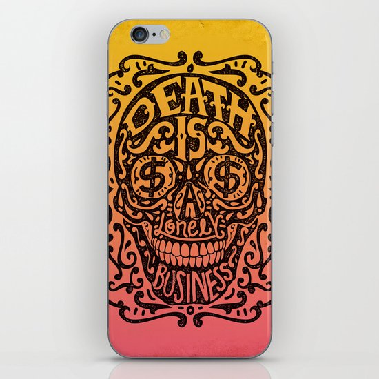 Death is a Lonely Business iPhone & iPod Skin