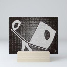 Out of Balance Mini Art Print