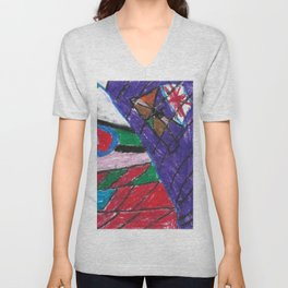 Window Wax Colors Unisex V-Neck