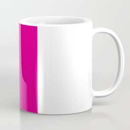 Black Magenta Coffee Mug