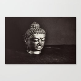 The Buddha Art Photograph Canvas Print