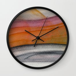 Abstract modern art 01 Wall Clock