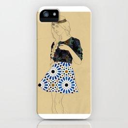 Majolica Lady iPhone Case