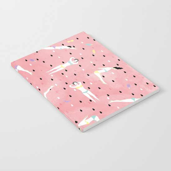 Watermelon Beach Party Notebook