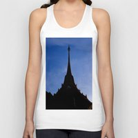 thailand Tank Tops featuring THAILAND by habish
