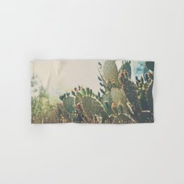 desert prickly pear cactus ... Hand & Bath Towel