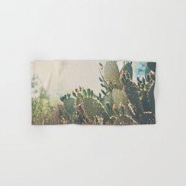 desert prickly pear cactus ... Hand & Bath Towel