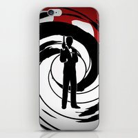 james bond iPhone & iPod Skins featuring JAMES BOND by alexa
