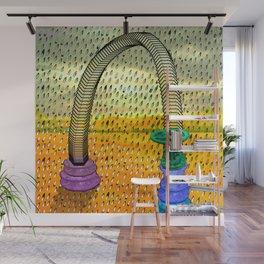 RainWater in the Desert - Tubes 2 Wall Mural