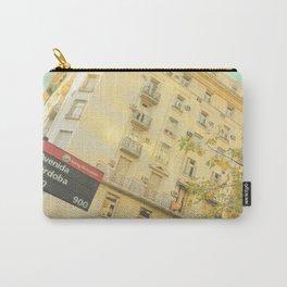 Avenida Córdoba  1000 - 9000 (Retro and Vintage Urban, architecture photography) Carry-All Pouch