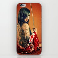 tatoo iPhone & iPod Skins featuring Tatoo by n23art