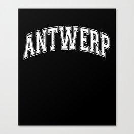 Antwerp City Belgium Canvas Print