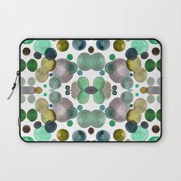 Watercolor circles Laptop Sleeve