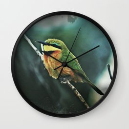 African Little Bee-Eater Bird Wall Clock