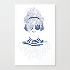 Groove Baby Canvas Print