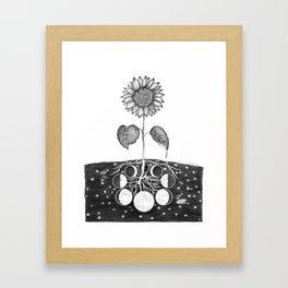 Prāṇa (Life Force) Framed Art Print
