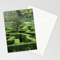 Garden Maze Stationery Cards