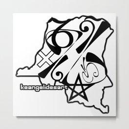 DRC Metal Print