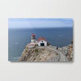 Point Reyes Light house Metal Print