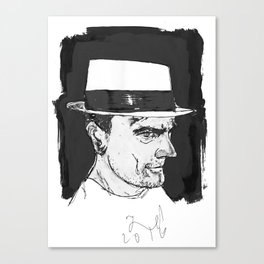 the brit Canvas Print
