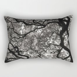 Magnolia Trees in Blossom 02 Rectangular Pillow