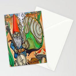 Gnome Stationery Cards