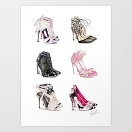 Shoe Heaven Art Print