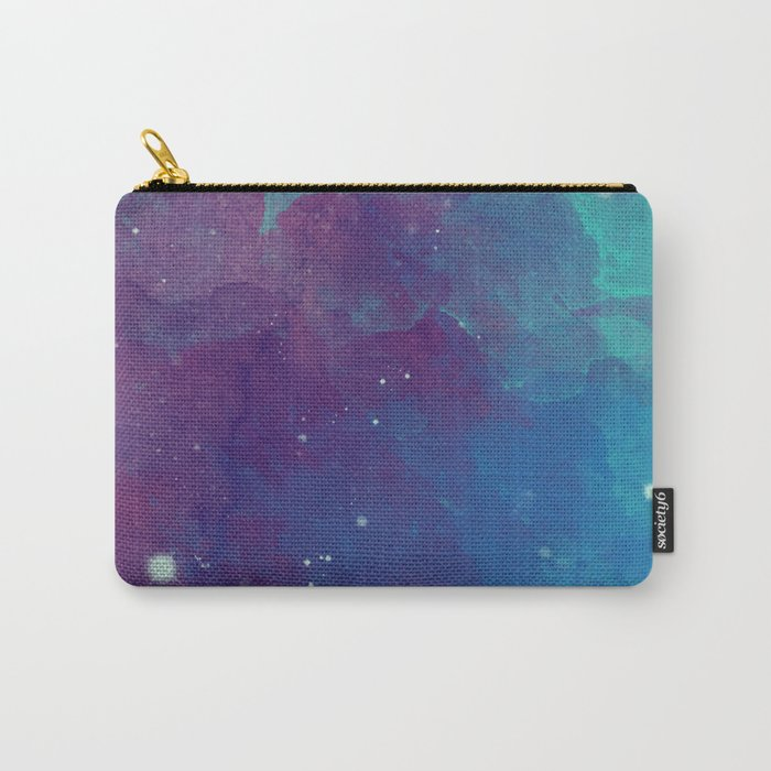 Watercolor night sky Carry-All Pouch