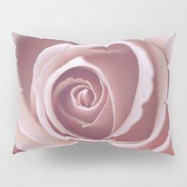 Pink Pastel Rose Pillow Sham