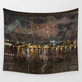 Overnight in Havana Wall Tapestry