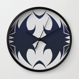 Future Abstract Alien Symbol Techie Wall Clock