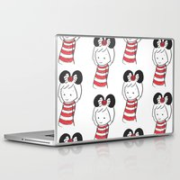 minnie Laptop & iPad Skins featuring Minnie 4 by Little Moon Dance